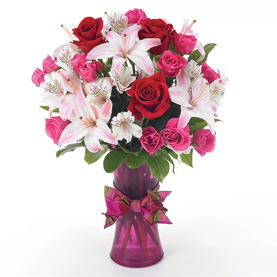 """You're in my Heart"" flower bouquet (BF20-11K)"